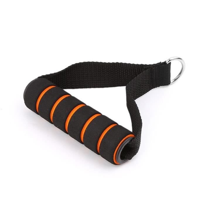 D-ring ressort tirer corde câble barre élastique chaîne mousse poignée équipement de Fi - Modèle: Fitness Equipment - HSJSTLDC00577
