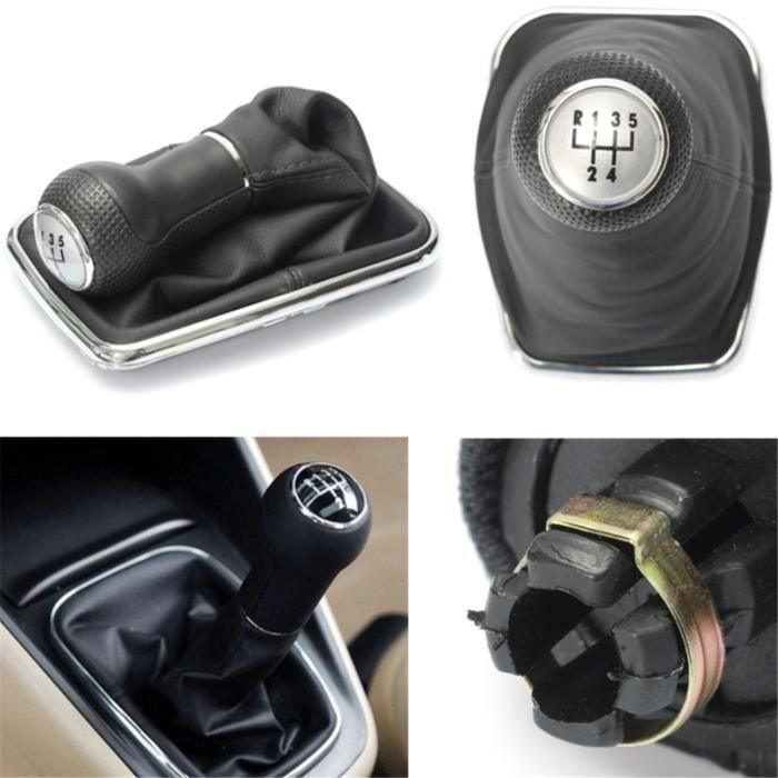 Changement de Pommeau 5 Levier Vitesse Démarrage bouton Pour VW Bora Golf 4 IV MK4