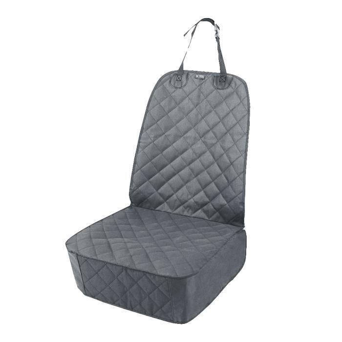 Sac de transport,Imperméable à l'eau avant housse de siège de voiture voyage chien siège de voiture couvre - Type Grey-106x50cm