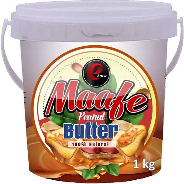 Beurre de cacahuètes - signature panafricaine - 1000g