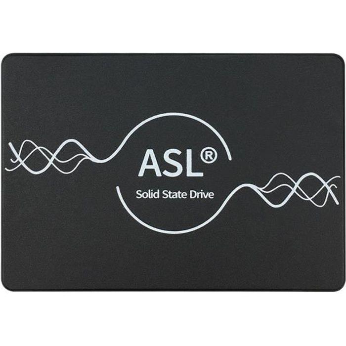ASL - Disque SSD Interne - F500S - 480 Go - 3D NAND, SATA - 2,5-