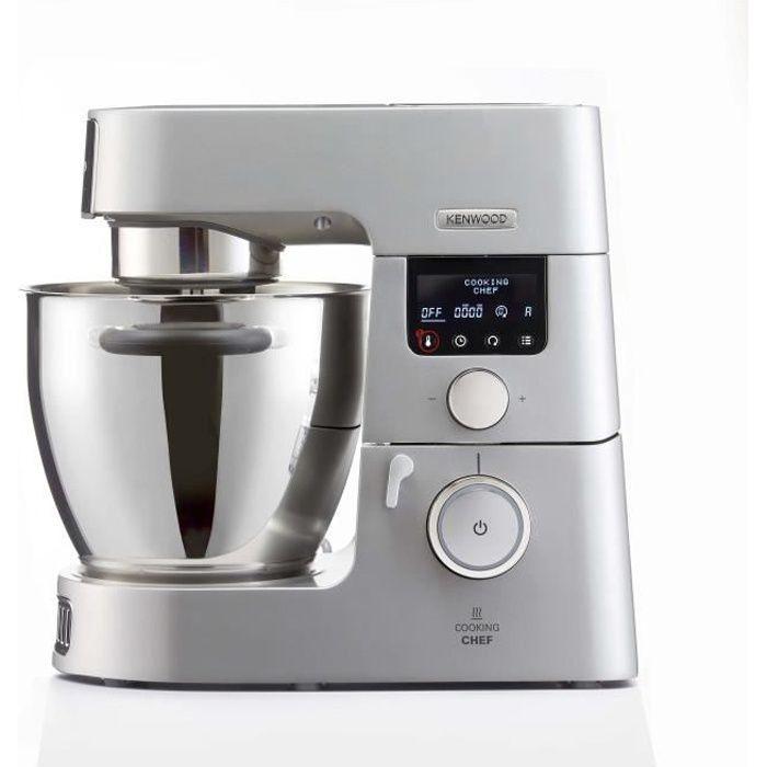 KENWOOD KCC9060S Cooking Chef Gourmet Robot de Cuisine, 1500 W, Induction 20, Capacité 6,7 L