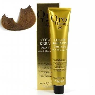 color keratin oro puro n°7.0 blond 100 ml