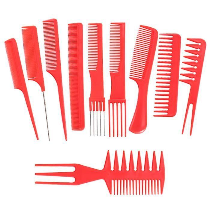 Peigne de lissage professionnel de la maison de coiffeur 20pcs BROSSE MANUELLE - PEIGNE