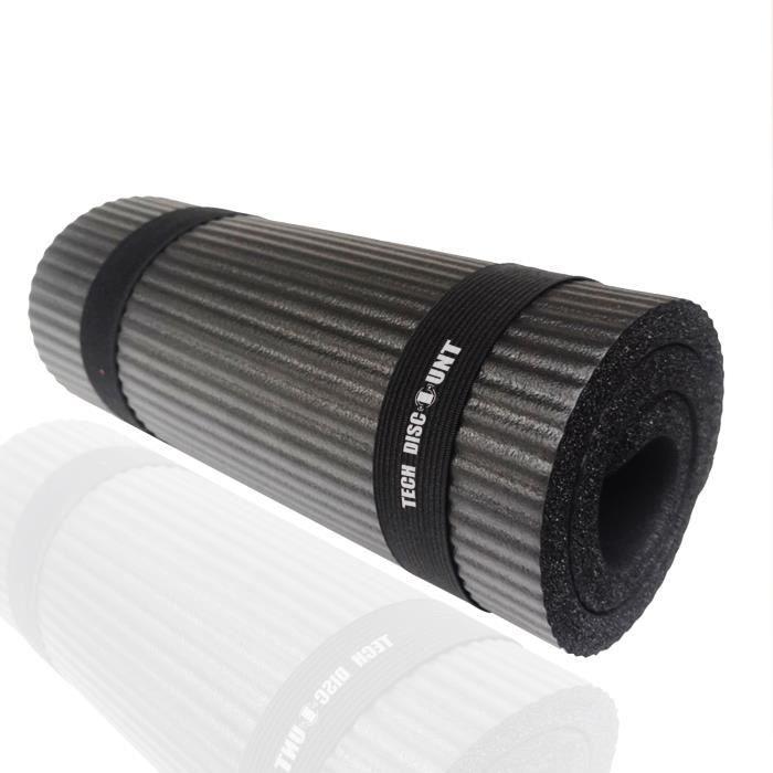 TD® 15mm d'épaisseur durable petit tapis auxiliaire de yoga tapis d'exercice antidérapant tapis de fitness support plat coudière