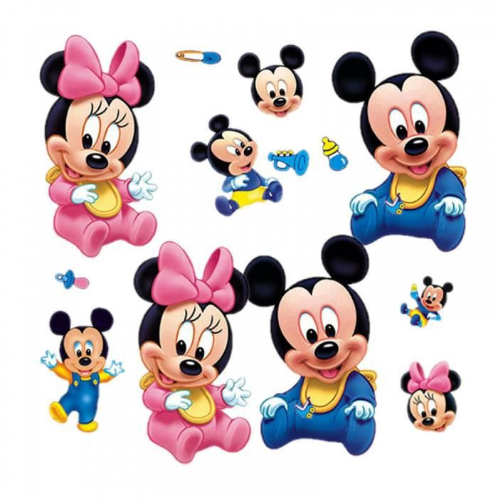 Bande dessin e mickey minnie bains dessins anim s d coration verre mignon stickers muraux 21 - Dessins animes de mickey mouse ...