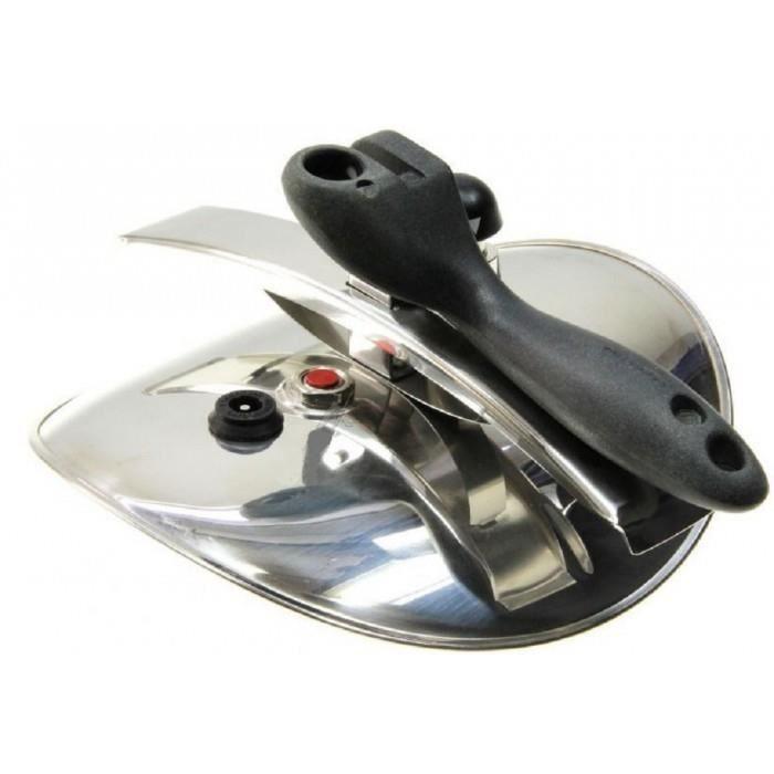 Couvercle Inox Complet Diametre Ext 23cm Pour Autocuiseur