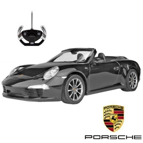voiture t l command e porsche 911 carrera s achat vente voiture enfant cdiscount. Black Bedroom Furniture Sets. Home Design Ideas