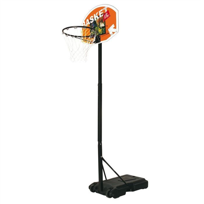 Mondo panier de basket junior ajustable de 165 205 cm for Panier de basket piscine
