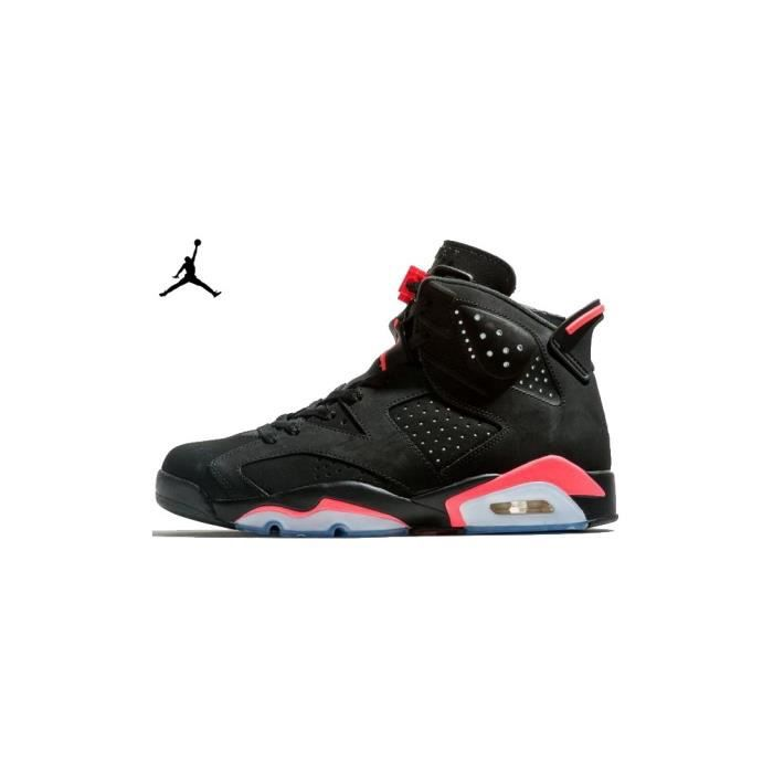 plus récent 69c8c 1862b Nike Air Jordan 6 Retro Black Infrared Noir - Achat / Vente ...