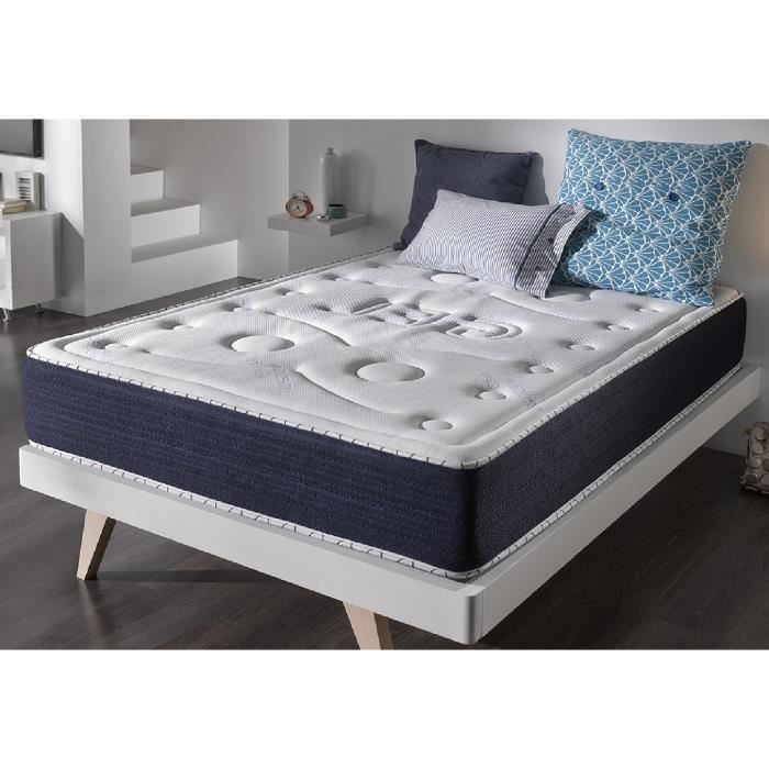 Matelas senso fresh 160x200 cm blue latex 7 zones visco gel 2009928191294 a - Matelas latex 7 zones ...