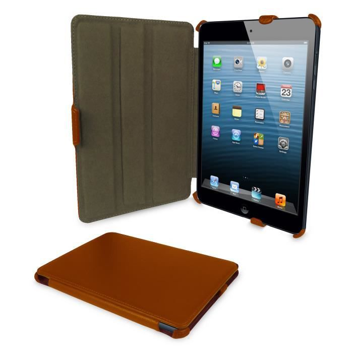 orzly etui frameless apple ipad mini orange achat vente coque housse orzly etui frameless. Black Bedroom Furniture Sets. Home Design Ideas