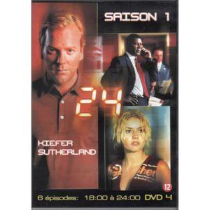 DVD FILM 24 heures chrono saison 1 DVD 3 8:00 - 12:00 DVD