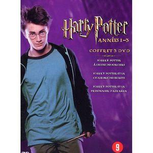 DVD DESSIN ANIMÉ COFFRET 3 DVD HARRY POTTER