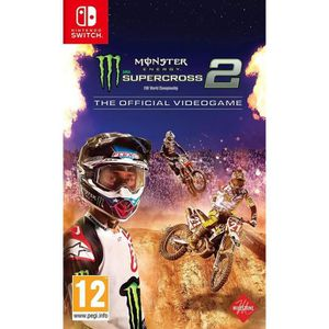 JEU NINTENDO SWITCH Monster Energy Supercross 2 Jeu Switch