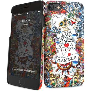 I-PAINT Coque Tattoo pour iPhone 7