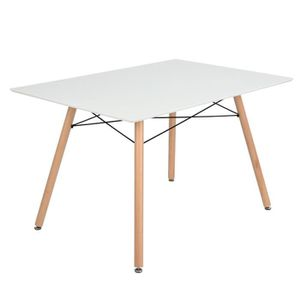 Table scandinave achat vente pas cher for Table rectangulaire scandinave