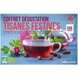 INFUSION Coffret dégustation Tisanes festives bio 36 sachet