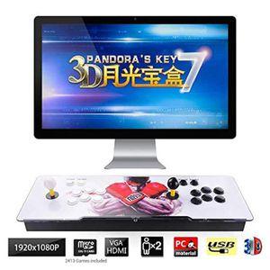 JEU CONSOLE RÉTRO Mecanique DR3HT 3d pandora key 7 console de jeux d