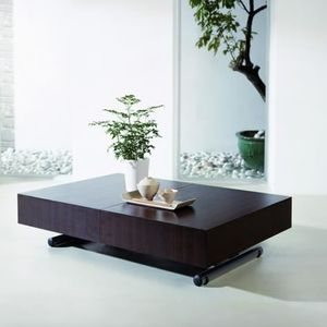 Table Basse Relevable Extensible Blanche Achat Vente Table Basse Relevable Extensible