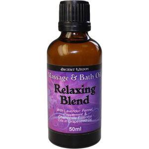 HUILE - LAIT MASSAGE Huile de Bain et de Massage Relaxante