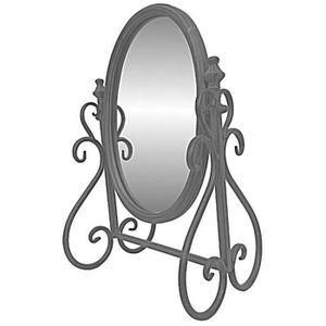 PSYCHE Miroir Psyché Inclinable à Poser de Coiffeuse en F