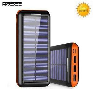 BATTERIE EXTERNE Batterie Externe, 20000 Mah Chargeur Solaire Power