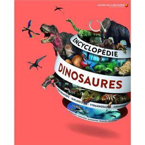 DOCUMENTAIRE ENFANT Livre - encyclopédie des dinosaures