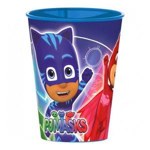 Verre à eau - Soda Gobelet PJ Masks verre plastique Disney enfant NEW