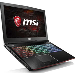 ORDINATEUR PORTABLE MSI PC Portable gamer GE62 7RE-026XFR 15,6