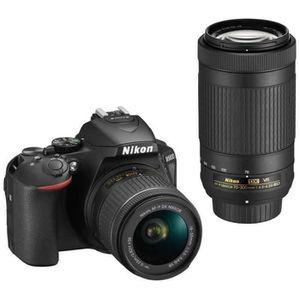 APPAREIL PHOTO RÉFLEX Nikon D5600 Kit (AF-P 18-55)(AF-P 70-300) appareil