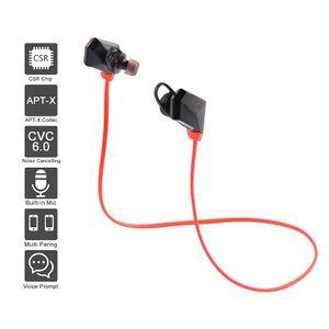 CASQUE - ÉCOUTEURS Écouteur Bluetooth Casque Sans Fil Sport Stéréo Ma