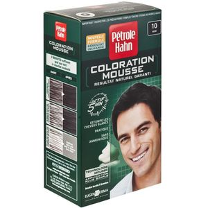 coloration coloration mousse noir petrole hahn - Shampoing Colorant Homme