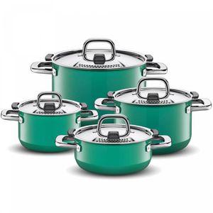 POÊLE - SAUTEUSE Silit Pot-Set 4 pièces. Green Nature 2109299295