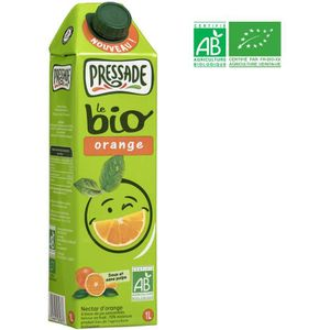Boisson fruit - légume PRESSADE Nectar d'orange bio - 1 l