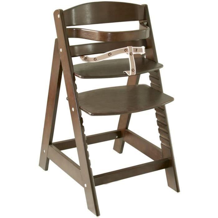 roba Chaise haute évolutive 'Sit Up III', en bois naturel, chaise haute qui suit la croissance de votre enfant, de chaise haute devi