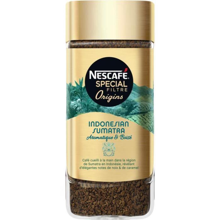 NESCAFE Café soluble Spécial Filtre Origins Indonesian Sumatra - 95G