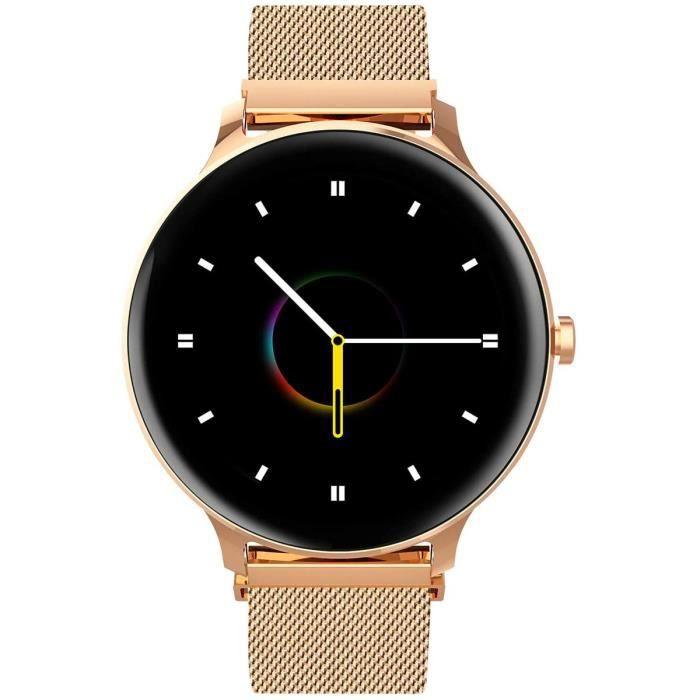 Blackview X2 Montre Connectée Femme Smartwatch Montre Sport Podomètre Cardiofrequencemètre Etanche 5ATM Natation Running Alarme Chro