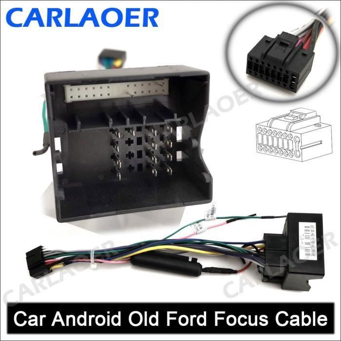 Pièces Auto,Câble autoradio 2 din pour voiture, Android, compatible avec l'extérieur, pour Suzuki, Buick, - Type Old Ford Focus