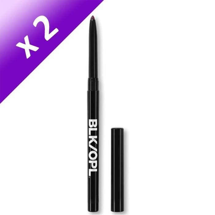Lot De 2 - BLACK OPAL Crayon contour des yeux BRL-1398 003Q Automatic Eye Lining Pencil