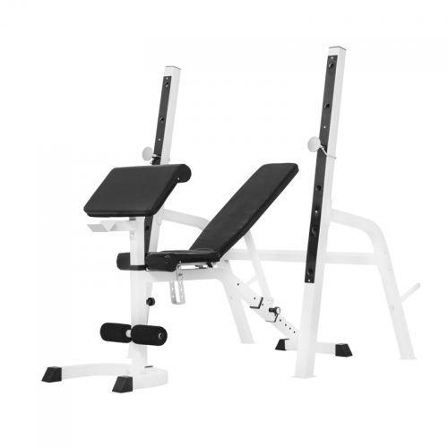 Gorilla Sports Banc de musculation avec repose-…