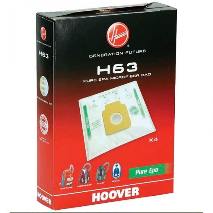 H63 SAC PURE HEPA X4 FREESPACE SPRINT pour aspi…