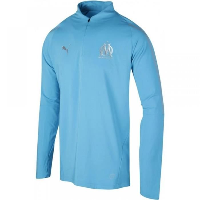 Maillot de football Puma Olympique de Marseille 1/4 Zip Junior - 753985-03