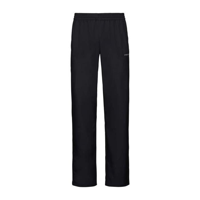 Head Club Hommes Pantalon tennis noir