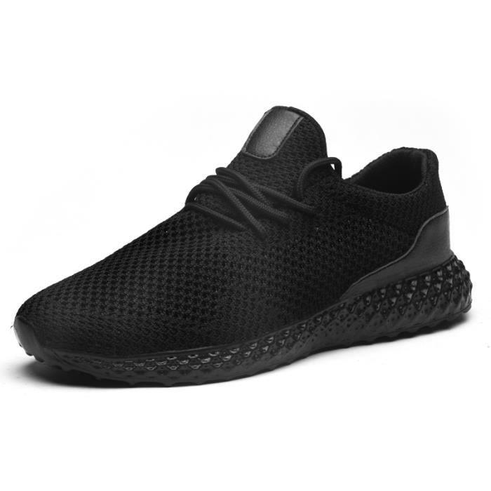 Baskets Homme MAX - Running Chaussures de sport Poids Léger Grande taille - noir CC™