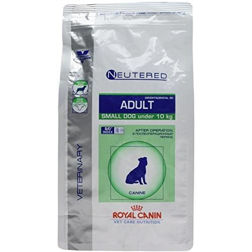 Royal Canin Veterinary Care Nutrition Dog Weight and Dental Neutered Nourriture pour Chien-Chienne Stérilisé de 318255076177
