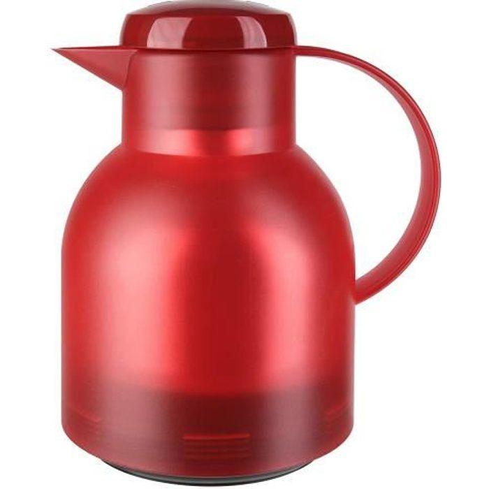 Tefal K3031312 - Carafe Isotherme SAMBA - 1L Rouge Translucide