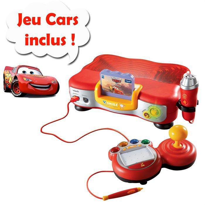 VSmile Cars + jeu Cars Inclus!