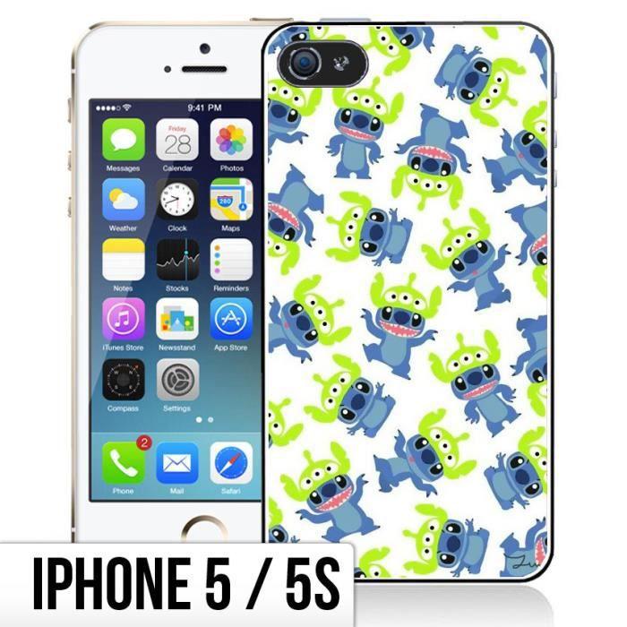 coque iphone 5 5s stitch fun