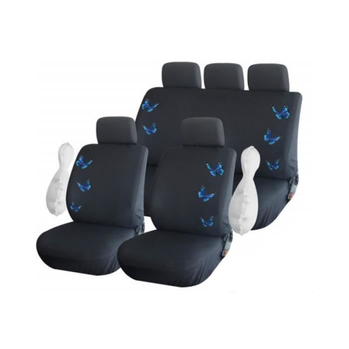 housse clio 2 achat vente housse clio 2 pas cher cdiscount. Black Bedroom Furniture Sets. Home Design Ideas